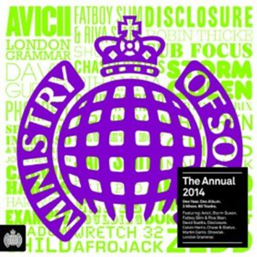 Various Artists - Ministry Of Sound The Annual 2014 Disc 1 Album Art