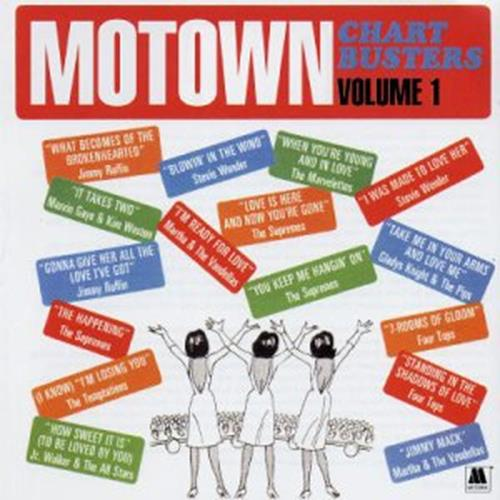 Various Artists - Motown Chartbusters Vol. 1 Album Art
