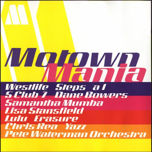 Various Artists - Motown Mania Album Art