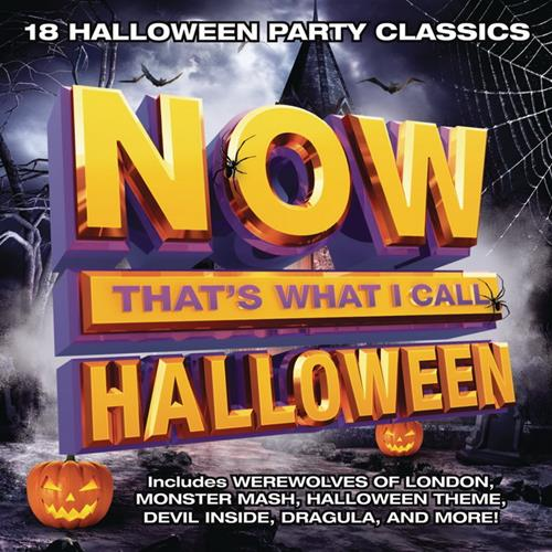 Various Artists - Now Thats What I Call Halloween Album Art