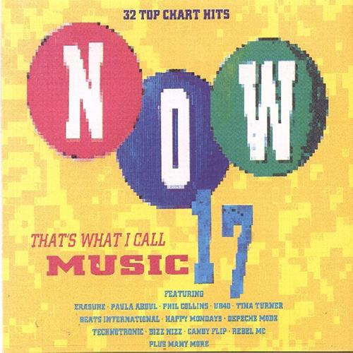 Various Artists - Now Thats What I Call Music 17 Disc 1 Album Art