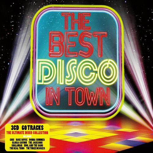 Various Artists - The Best Disco In Town Disc 1 Album Art
